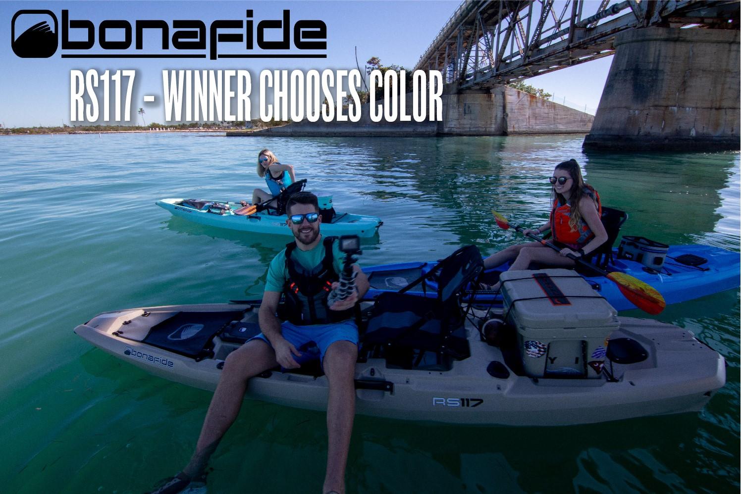 YakAttack 40K Giveaway Bonafide Kayaks